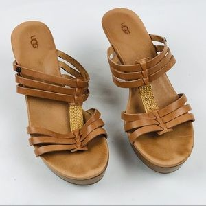 Ugg Mattie Wedge Sandals